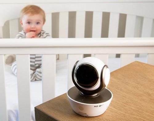 Baby monitor per sorvegliare il bebè