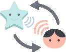 La comunicazione bidirezionale permette parlare con il bimbo
