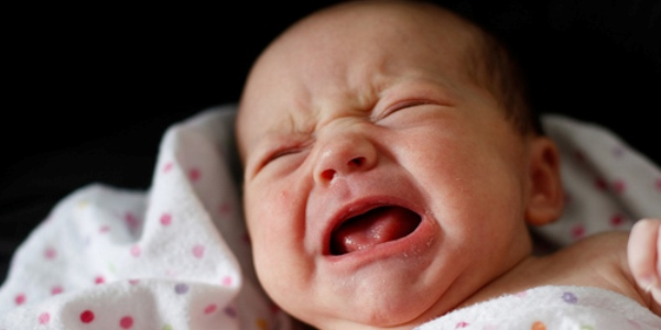 I diversi tipi di pianto del neonato